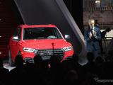 アウディ、新型モデルを初公開!354馬力のハイスペック「SQ5」 画像
