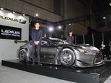 本腰参戦!レクサス最新レーサー「RC F GT3」がオートサロンに登場 画像