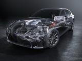 レクサス LS500h 新型、マルチステージハイブリッド搭載で350馬力か 画像