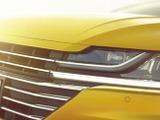 VWパサート上位モデルの4ドアクーペ、「アーテオン」表情公開 画像