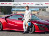 ホンダNSX新型をアロンソが試乗、ブレーキ性能を高評価 画像