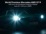 【グッドウッド16】メルセデスAMG、最強「GT R」のヘッドライトが光る! 画像