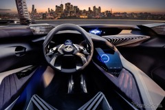 レクサス近未来コックピットだ!新型SUV「UXコンセプト」インパネ初公開