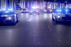 【動画】豪華過ぎる!世界最強ドバイ警察、スーパーカー軍団PVだ