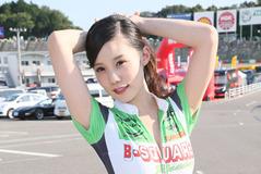 【レースクィーン】鈴鹿8耐『B-SQURE RACING & TEAM 能塚 RQ』