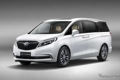 中国シェアNO.1!GM高級ミニバン「GL8」、新型公開