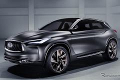 優雅に力強く...インフィニティ次世代SUV「QXスポーツ」、LAで北米初公開