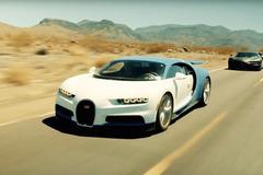 【動画】3億円のブガッティ新型、量産型が灼熱のデスバレーで世界最強を証明