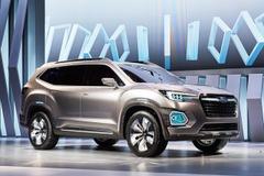 あるぞ市販化!スバル新型SUV「VIZIV-7」初公開!3列シートにゆとりある空間