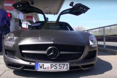 【動画】メルセデスSLS AMG、ニュルで官能の「アクラポヴィッチ」エキゾーストノート!