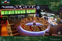 メルセデス、「スターガーデン」で東京六本木に世界最大級のリースを展示