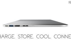 """新型MacBook Proの""""下に敷いて使う""""ポート拡張ツール「Line Dock」"""