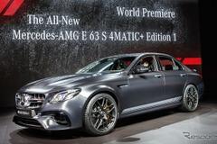 際立つナイトブラック塗装!メルセデスAMG E63Sに特別な「エディション1」登場