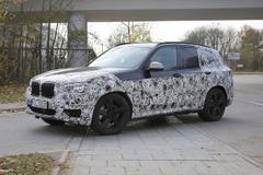 2017 BMW X3次期型、ロングボディやハイブリッドも投入へ!