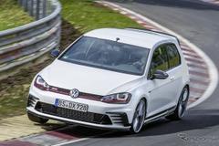 VW「ゴルフ GTI」が更なる進化...ニュルで2秒記録更新にシビック タイプRどうする?