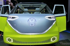VW、最先端EVマイクロバス「I.D. BUZZ」を初公開!0-100km/h加速5秒のパフォーマンス