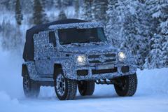 超オフローダー・メルセデスG500 4x4次期型、豪雪のスカンジナビアを駆け巡る!