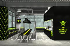 ニューバランス、レース用シューズ発売を記念してカフェ「NB HANZO BASE」オープン