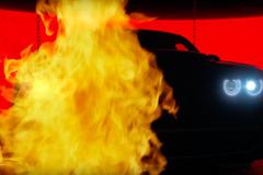 【動画】ダッジ最強「デーモン」予告ムービー第二弾...炎の奥でLEDが光った!