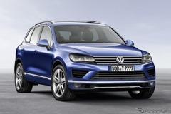 VW、トゥアレグ次期型を2017年発表を告知!特徴はクーペルーフ