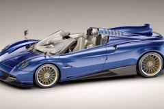 AMG製764馬力!パガーニ ウアイラ、究極のロードスターを発表!
