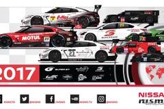 """日産&ニスモ、2017年もGT300やS耐への参戦チームを支援…GT3仕様GT-R""""エボ""""開発にも着手"""