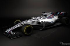 F1ウィリアムズ、2017年新型マシン「FW40」を初公開