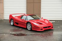 フェラーリ F50史上2番目の高値!? マイク・タイソンの愛車がオークションに!