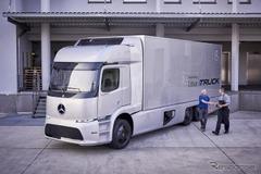メルセデス、世界初の大型EVトラックの実地テスト開始を発表!