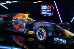 レッドブル革新的次世代F1マシン!「RB13」を初公開!