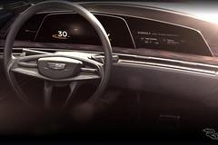 キャディラック、「曲面有機発光ダイオード」搭載の新世代コンセプトカー公開へ
