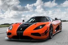 ケーニグセグ「RS」の進化系「XS」、巨大カーボン・ウィング装着で1160馬力だ!