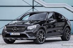 高性能スポーツサスペンション装備!欧州で367馬力「メルセデス AMG GLC 43クーペ」発表