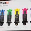 日本市場ではHOT PINK、COOL MINT、ROYAL WAVEの3色で展開する