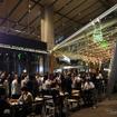 9月22日にオープンする Shake Shack 東京国際フォーラム店(写真は21日の前夜祭)
