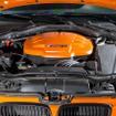 「M3 GTS」(2010)「E92型」をベース。排気量を4リットルに拡大、直6からV8へ変更されたエンジンはM3マニアに賛否両論を巻き起こし、ハイパワーと引換に失ったものとは?M3にとって直6とは? M3の未来を不安視する声も。4リットルV型8気筒最高馬力 420ps