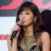 週間プレイボーイ創刊50周年記念出版『熱狂』発売会見に登壇した石川恋(2016年10月14日)