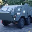装輪装甲車の形状をしており、機動性能を試すための車両となっている。