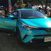 トヨタ C-HR の市販モデル(新城ラリー2016)