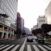 国道14号千葉街道から外房線を見る(2016年11月)