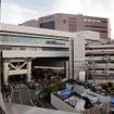 千葉駅から千葉ステーションビルを見る(2016年11月)