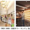 「KYOTO TOWER SANDO(京都タワー サンド)」完成イメージ
