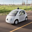 グーグルが自社開発した自動運転車のプロトタイプ