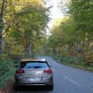 尾瀬から南会津へと下っていくR352.林の中のドライブも気持ちが良かった。