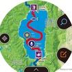地図上にマークを記録可能。音声データも入れられる