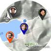 位置情報コミュニケーションアプリ「CASIO MOMENT LINK」。メッセージのやりとりも可能
