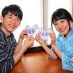 オリジナルウィッシングカード(短冊)「れすとらん北齋」(モデル:那海&本多遼)