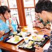 スペシャルセット「レストラン櫻」(モデル:那海&本多遼)