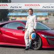 ホンダ NSX 新型とアロンソ選手