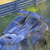 ケーニグセグ ONE:1 がニュルでクラッシュ…スクープ写真